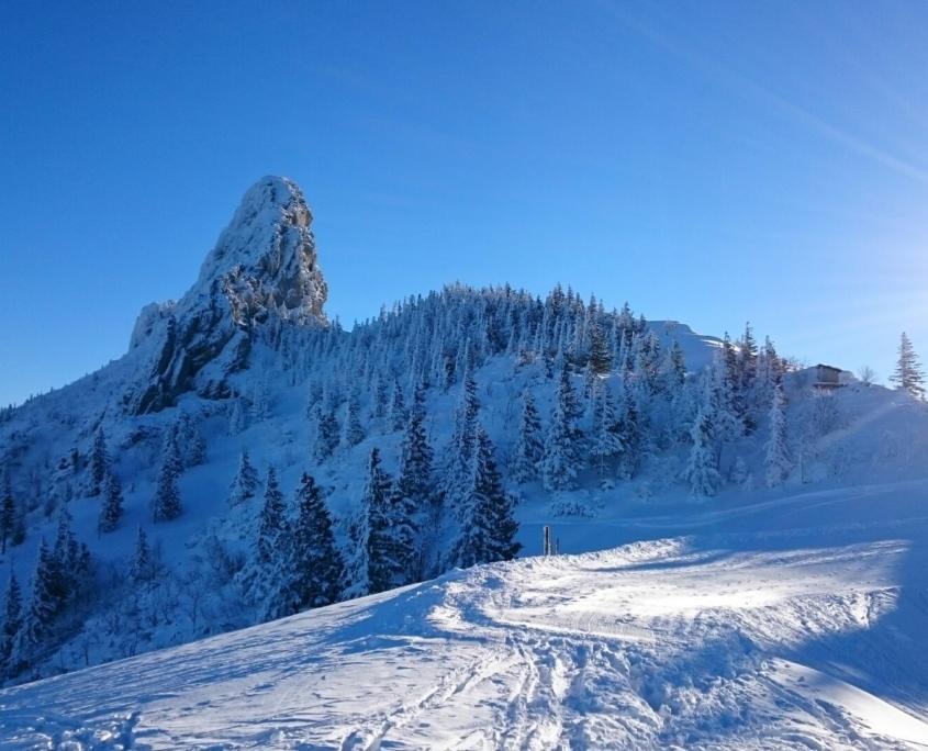 Wintersportgebiet Kampenwand
