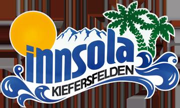Wort-Bildmarke des Hallenbads Innsola in Kiefersfelden