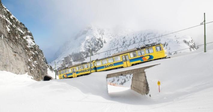 Zahnradbahn am Wendelstein