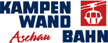 Wort-Bildmarke der Kampenwandbahn in Aschau